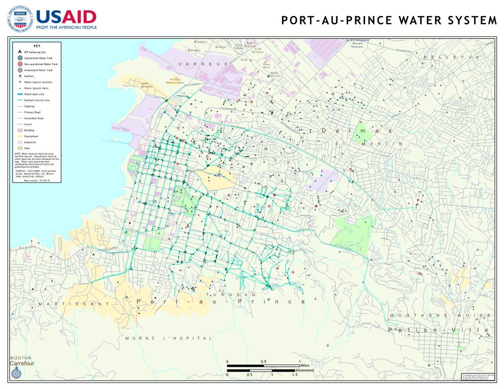Most of Port-au-Prince Without Water, Needs Still Not Met ... Port-au-prince Map